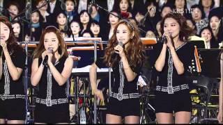 110514 SNSD - Hoot, Talk \\u0026 Gee @ PyeongChang Winter Olympic Concert
