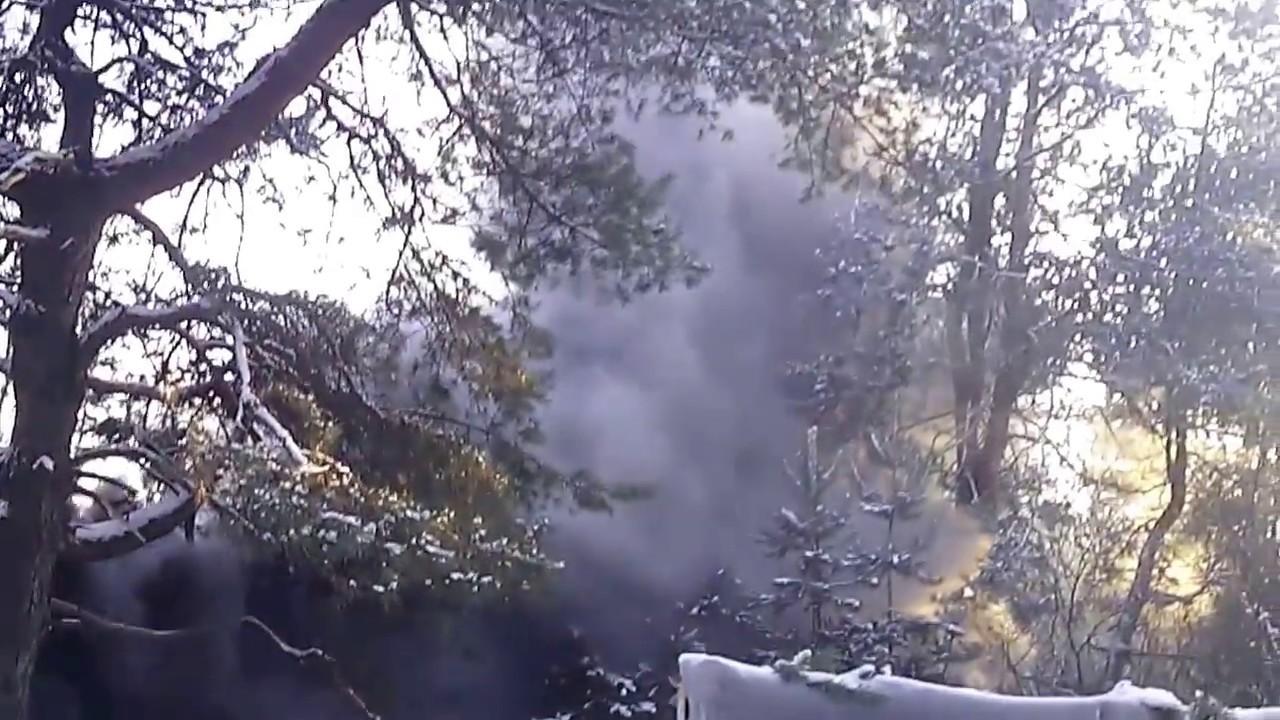 Армейская Дымовая Шашка - YouTube
