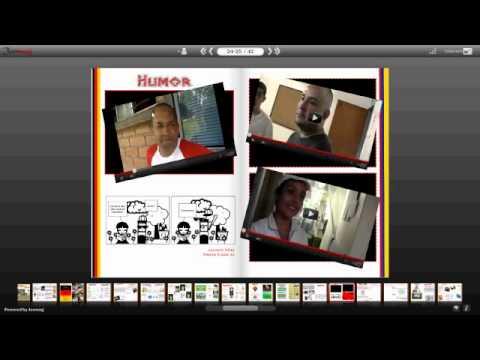 Periodico escolar youtube for Componentes de un periodico mural