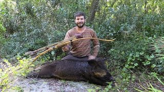 Traditional Bow Hunting for Hogs