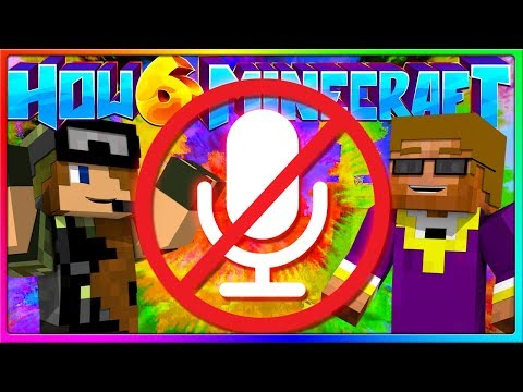 I BROKE MY MICROPHONE | Episode 40 of How to Minecraft Season 6 (H6M)