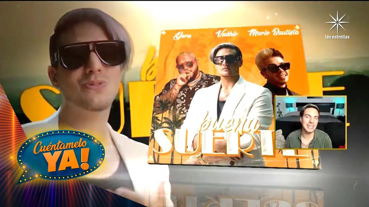 ¡Vadhir Derbez se lanza como cantante y estrena tema junto a Mario Bautista!    Cuéntamelo YA!