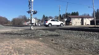 NS coal train through Leetonia Ohio