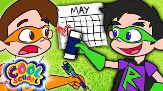 Bad Guys ERASE Mother's Day! - Bad Guy Class | A Stupendous Drew Pendous Superhero Story