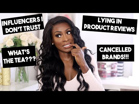 I'M A FRAUD, INFLUENCERS I DON'T TRUST, CANCELLED BRANDS - TRUTHFUL YOUTUBER TAG FT ALI JULIA HAIR