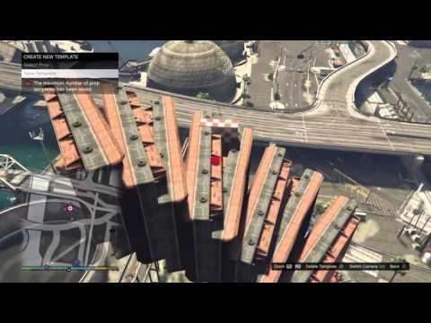GTA 5 - Content Creator Tutorial - Barge Spiral/Corkscrew
