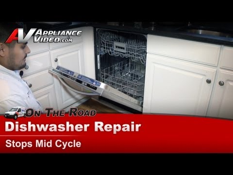 how to fix my whirlpool dishwasher