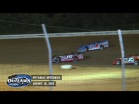 Highlights: World of Outlaws Late Model Series Potomac Speedway August 14th, 2015