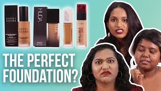 Desi Girls Try To Find The Perfect Foundation | BuzzFeed India