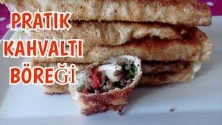 Pratik Kahvaltı Böreği, Kahvaltılık Tarifler, Kolay kahvaltı tarifleri