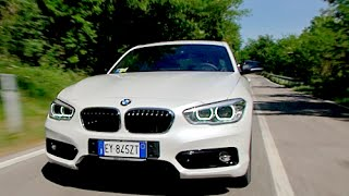 NEW BMW SERIE 1 2015 - PREMIERE AND FIRST TEST DRIVE