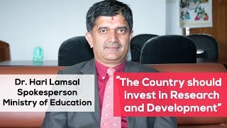 Education in Nepal, Dr. Hari Lamsal, Spokesperson, Ministry of Education | Interview