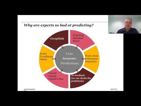 Superforecasting: How we can all improve our ability to predict the future