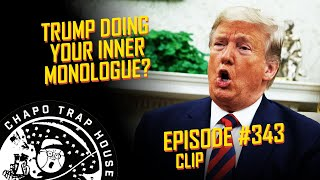 Clip from episode 343 - checking the dipstick (8/22/19)we spend majority of this in on donald trump's amazing brain and thoughts wor...