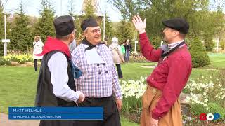 Tulip Time | Sen. Victory visits Windmill Island
