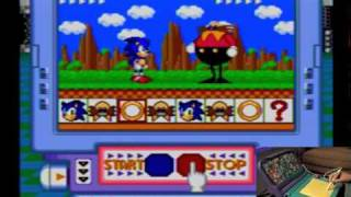 Sonic the Hedgehog's Gameẁorld (Sega Pico)