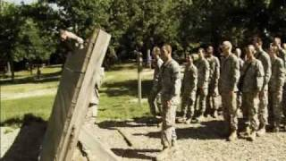 US Army Basic Training: Red Phase II - Obstacle Courses
