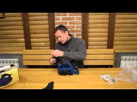 Рубанок электрический Ритм РЭ 1100 С выборкой четверти