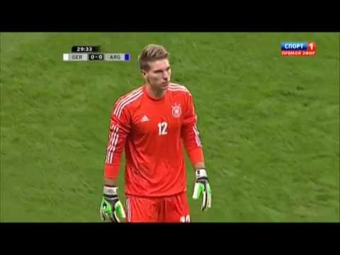 Смотрим футбольные приколы. Пенальти Месси в матче _Германия – Аргентина