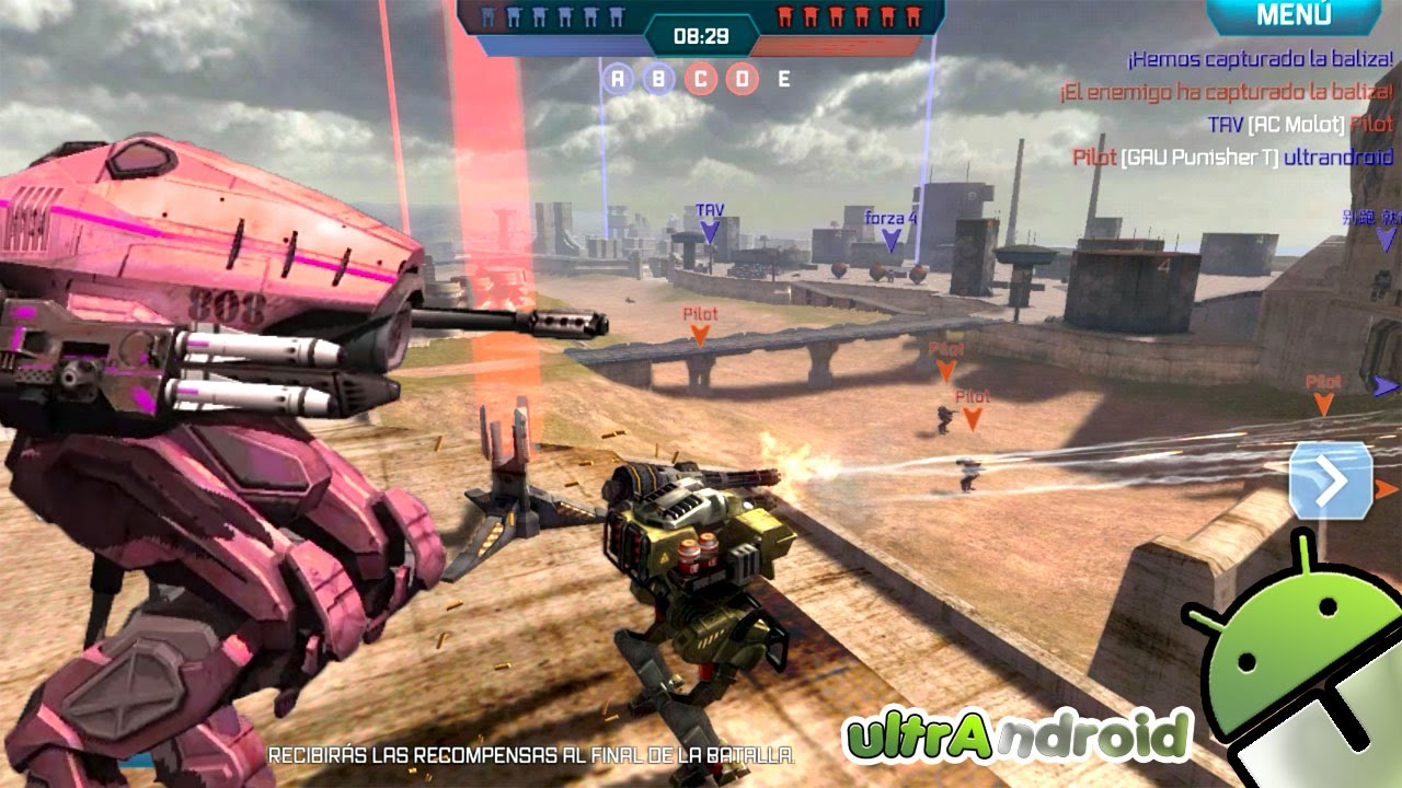 Como jugar walking war robots en pc | how to play wwr in pc.
