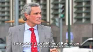 Entrevista a José Manuel Rodrigues