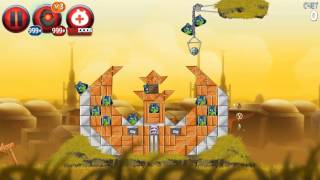 Angry Birds Star Wars 2 Rebels All levels (Pork Side)