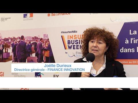 Retour sur l'#InsurtechBiz 2019 avec Joëlle Durieux, Directrice Générale du Pôle FINANCE INNOVATION