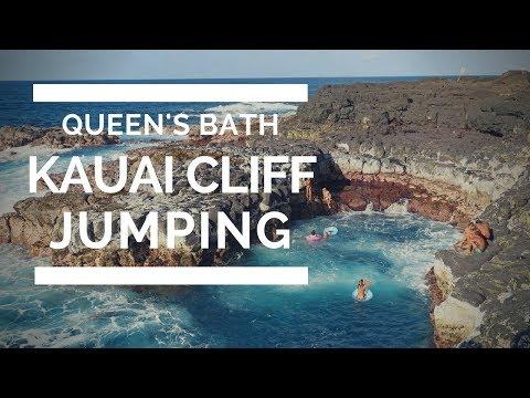 Queen's Bath, Kauai including quadcopter views