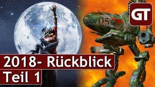 Thumbnail für Der außerordentlich tolle GameTube Jahres-Rückblick 2018 - Teil 1 - GT Talk #10