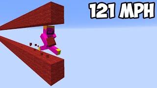 the fastest bridging method in minecraft