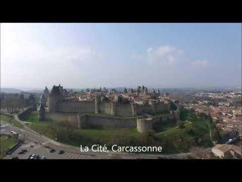 Carcasonne To Bram Drone Video