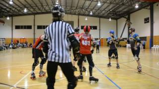 Video BCR Showtime The Scartel vs Perth Mens Roller Derby download MP3, 3GP, MP4, WEBM, AVI, FLV Agustus 2018