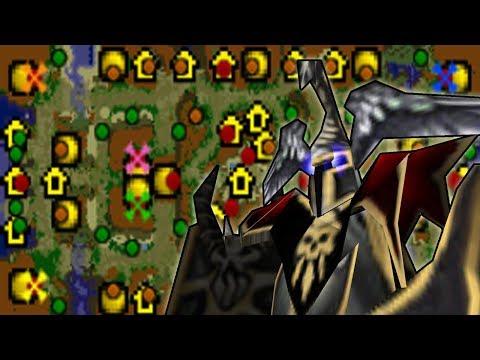Warcraft 3 - Jarilo Jungle (4v4 #21)