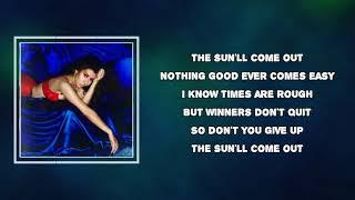 Kali Uchis - After The Storm (Lyrics)