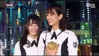 【けやき坂46】 Hiragana Keyakizaka46 MAMA Award Best New Artist Jap...