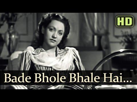 Bade Bhole Bhale Hai - Anokhi Ada Songs - Surendra - Naseem Banu - Prem Adib