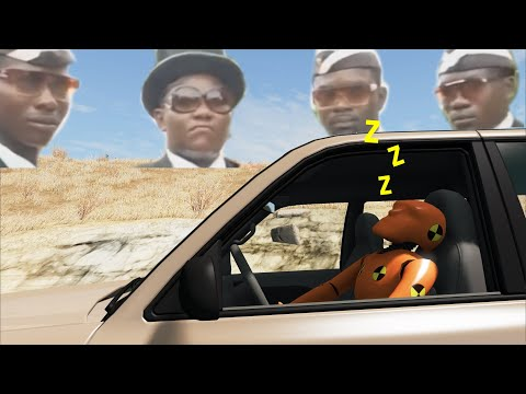 Asleep At The Wheel (ft. Dancing Pallbearers) | BeamNG.drive