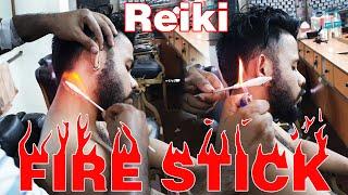 Fire Stick head massage by Reiki Master | Indian Massage