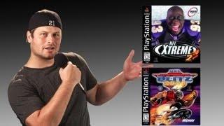 NFL Xtreme 2 / Blitz 2000 - Playstation (PS1) - Retro Sports Gamer vs Lumberjack Cracks