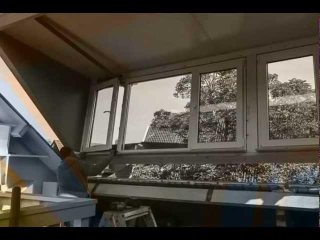 Hollandia dakkapellen montage De Lange Haarlem (time lapse)
