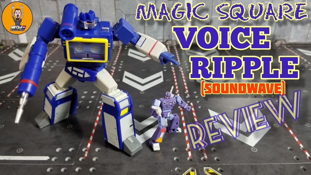 Magic Square MS-B27 Voice Ripple (Legends Soundwave) review By Kato's Kollection