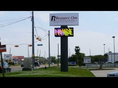 Outdoor LED Signs In Houston | LED Outdoor Signs In Houston TX | Resource One