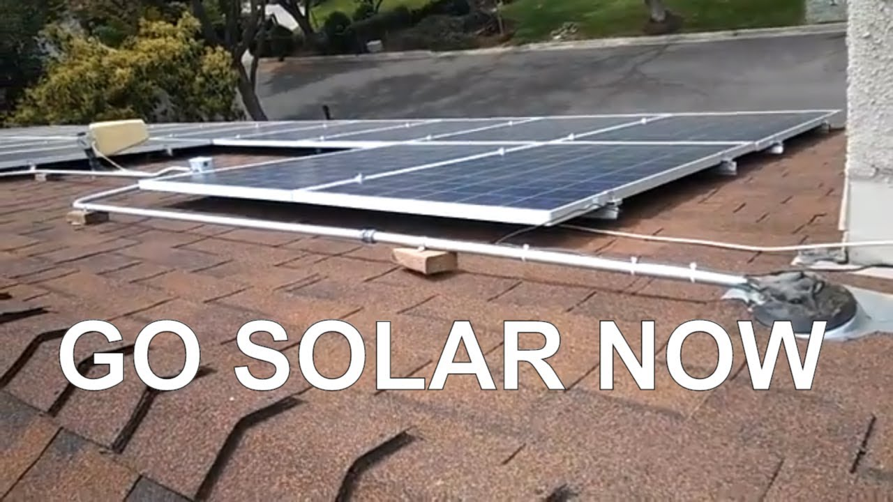 Do it yourself solar panel install youtube do it yourself solar panel install solutioingenieria Gallery