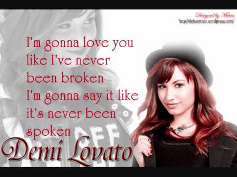 Demi Lovato - Unbroken Lyrics | MetroLyrics