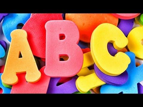 Abecedario Alfabeto Español  Canciones Infantiles Aprende el ABCedario  Canta las letras