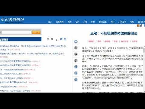 朝鲜怒斥人民日报环球时报:不知耻的媒体放肆的做法