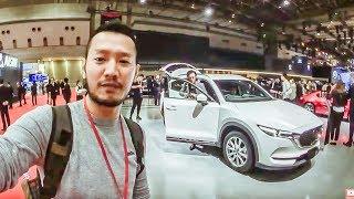  TMS 2017  Khám phá chi tiết Mazda CX8 6 chỗ đẹp hơn CX5 2018