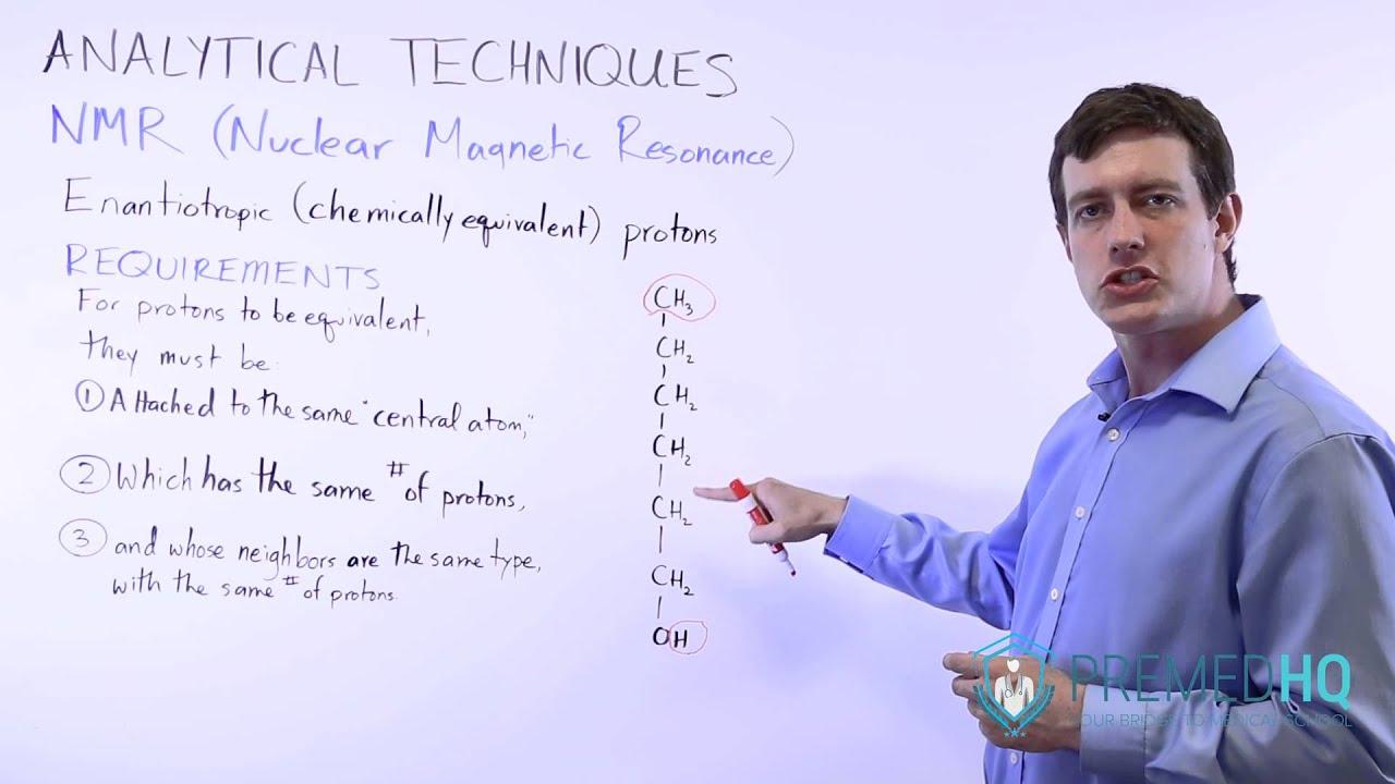 Chemical Equivalence Nmr Spectroscopy Youtube