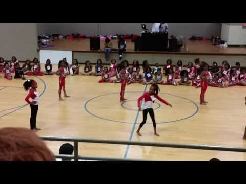 A'shari BABY DANCING DOLLS Tryout 2017