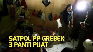 VIDEO Satpol PP Grebek 3 Panti Pijat tak Berizin di Makassar
